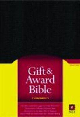 NLT Gift Award Bible Black Imitation Leather