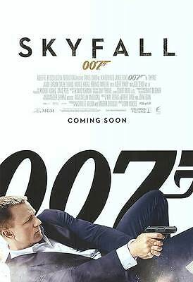 Skyfall Coming Soon  Original Double Sided Movie Poster 27X40