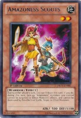 3x Yugioh LEDU-EN012 Amazoness Archer 1st Edition Common Card