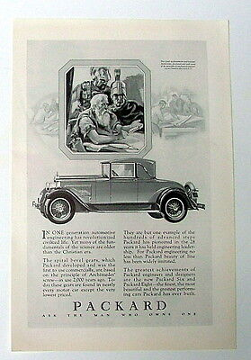 1927 PACKARD AUTOMOBILE CAR AD ADVERTISEMENT #1bb2