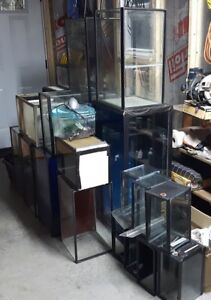 Aquariums for fish or reptiles -- various sizes super cheap