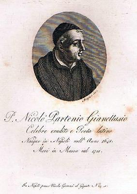 Napoli Poewsia P. Nicolò Partenio Gianettasio