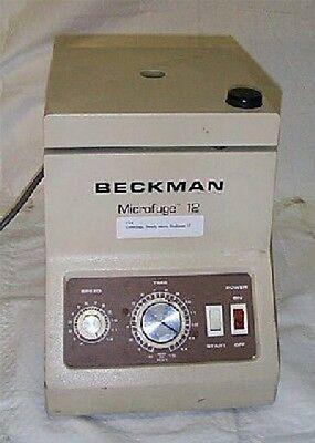 Centrifuge Benchtop Model Beckman Microfuge 12