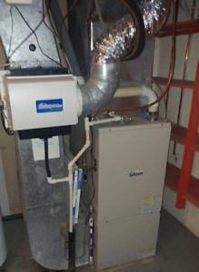 GIBSON FURNACE/CENTRAL AIR COMPLETE & WORKING