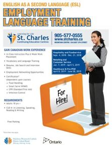 ESL - Retailing & Customer Service Class at St. Charles