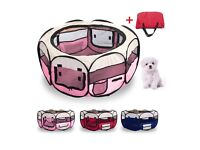 Puppy pen /animal rabbit foldable playpen and bag