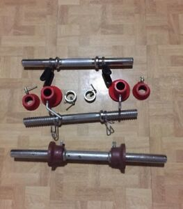 Weight Bars and Clamps