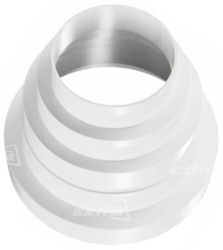 Riduzione concentrica per tubo cappa riduzione cappe 125 for Cappa senza tubo