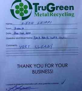 We Buy Metal - TruGreen Metal Recycling Regina Regina Area image 7