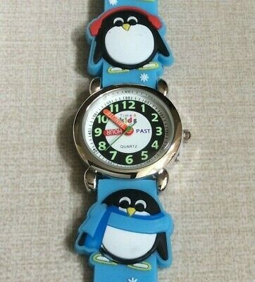 TIME 4 KIDS Watch Helps You Teach Your Child to Tell Time on Blue Penquin Band!](Blackbeard Band)