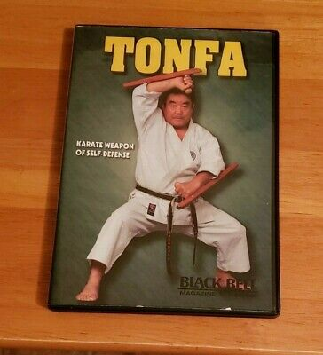 Tonfa Karate Weapon Of Self-Defence Fumio Demura Black Belt Magazine Video DVD