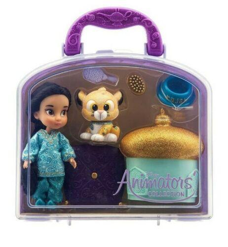 "Disney Animators Collection Jasmine Mini Doll Play Set 5"" NE"
