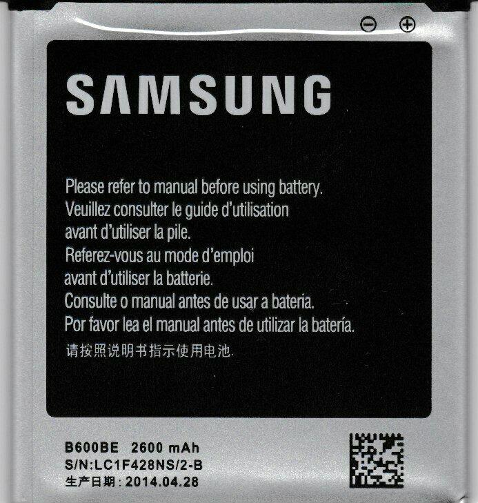 Batterie samsung b600be galaxy s4 plus chargeur extra spare