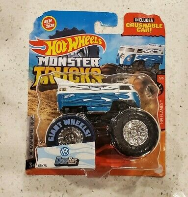 Hot Wheels Monster Trucks VW Drag Bus 2020 NIP