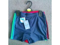 Brand New With Tags Two pack of Boys Swimming Trunks.