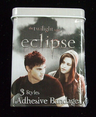 Twilight Saga Eclipse Bella & Jacob Bandages in Sealed Tin