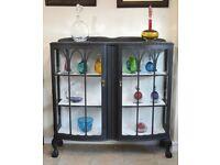 Vintage display cabinet