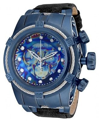 Invicta 17376 Reserve Bolt Zeus Empire Chronograph Mens Watch + 8-Slot Dive Case