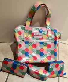 Gorgeous Cath Kidston Patchwork Bag, Purse, Wallet & Sunglasses Case
