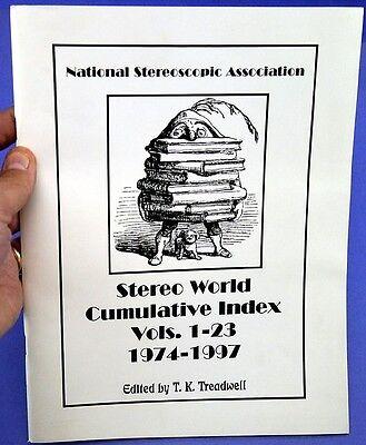 Stereo WorldMagazine - Cumulative Index Volumes 1-23 (1974-97)