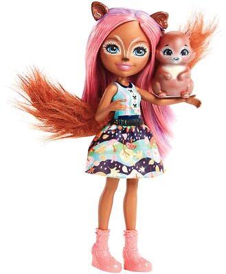 Mattel FMT61 Enchantimals Eichhörnchen Mädchen Sancha