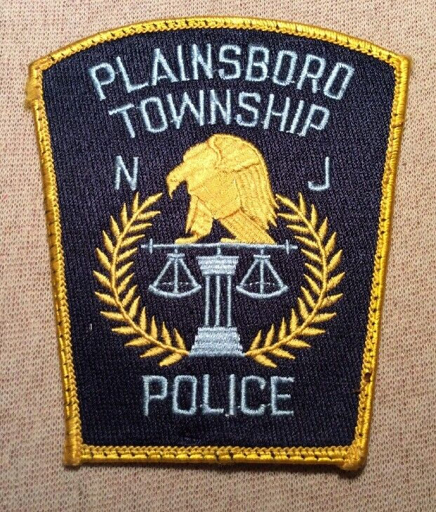 NJ Plainsboro Twp. New Jersey Police Patch
