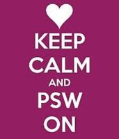 WANT TO JOIN A GREAT TEAM OF PSWs? CALL US!