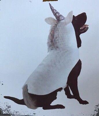 "SPOOKY NIGHT  Halloween Costume  ""UNICORN"" Puppy/Dog MEDIUM"