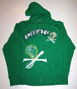 GREEN DAY HOODIES, (DIFFERENT DESIGNS), HOODED SWEATSHIRTS