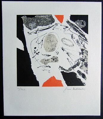 GINO MORANDIS, Original Siebdruck, handsigniert, II/XXX