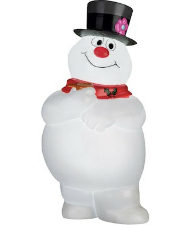 """NEW 2021-  24"""" Frosty The Snowman Lighted Blow Mold CHRISTMAS DECORATION"""