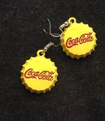 Coca Cola Bottle Cap Earrings 👀
