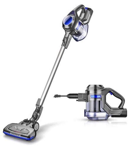 MOOSOO Cordless Vacuum XL-618A 2 In 1 Stick And Handheld Vac