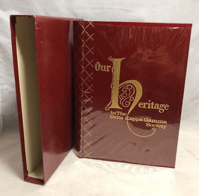 Our Heritage in the Delta Kappa Gamma Society Book w/Slipcase, 1960