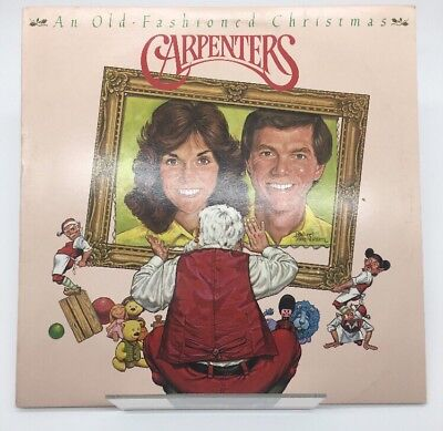 Carpenters An Old Fashioned Christmas Album Vinyl Record LP