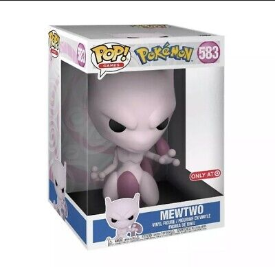 "Funko Pop Games Pokemon MEWTWO 10"" Special Edition Vinyl (IN STOCK) # 583"
