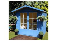7x5 top quality summerhouse new delivery available