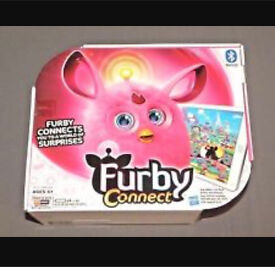 Pink furby connect new in box, never opened