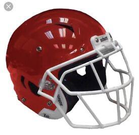 American football facemask schutt