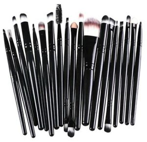 Brand new professional eye makeup brushes. Set of 20, black Kitchener / Waterloo Kitchener Area image 5