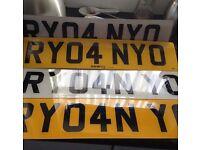 Ryan Personalised Number Plate