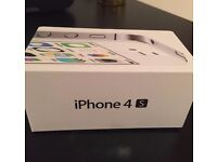Iphone 4s white - good condition with working charger and earphones
