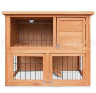 💕💕💕 Budget Double Storey Rabbit Hutch 💕💕💕