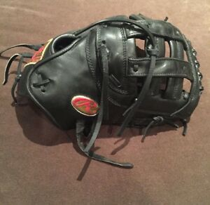 Rawlings Pro Issue Pro Preferred Gold Patch 1B Mitt