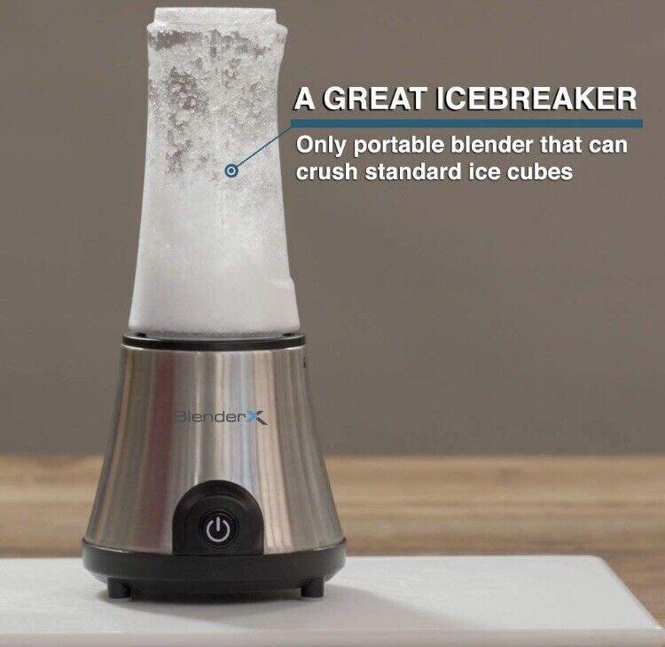 BlenderX CORDLESS HOME, PORTABLE & TRAVEL Blender   Xtra Power, MUST READ