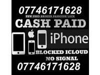 Wanted iPhone Working OR Cracked/Smashed CASH PAID NOW