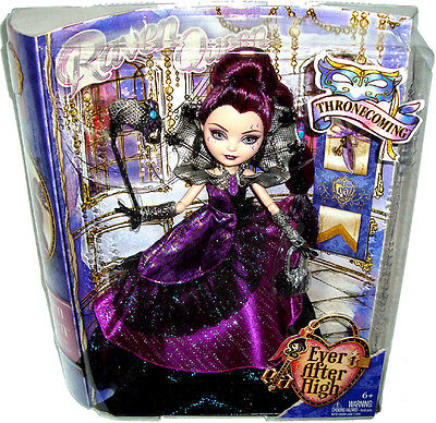 Ever After High Thronecoming Raven Queen Doll MIB Toy Mattel BJH50/51