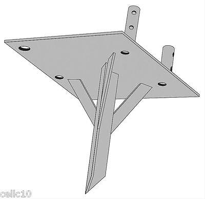 ROHN SDB25G Single Drive-In Ground Mount for ROHN 25G Tower - Temporary Base. Buy it now for 315.00