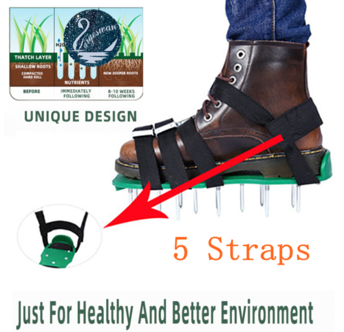 lawn aerator shoes lawn spikes shoes 5