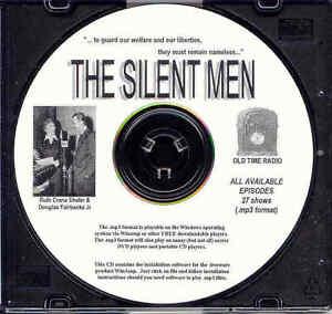 SILENT MEN (27 SHOWS) OTR MP3 CD
